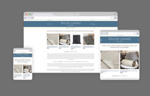 Duchy Living Cornwall Website