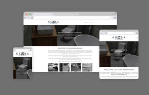 Kensa Bathrooms Cornwall Website